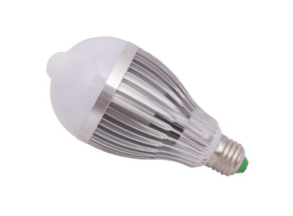 Ampoule LED + detecteur PIR 12W