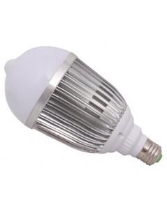Ampoule LED + detecteur PIR 15W